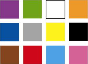 12-ти цветная таблица